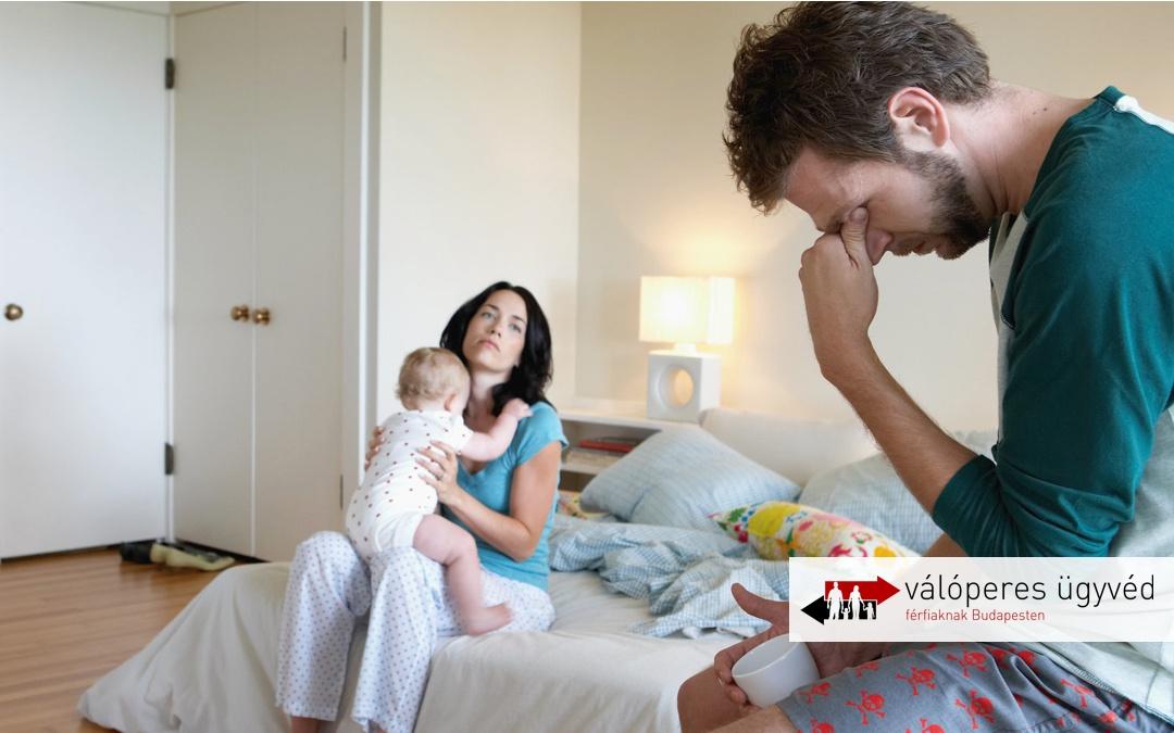 5 végzetes hiba, amit egy férfi elkövet váláskor